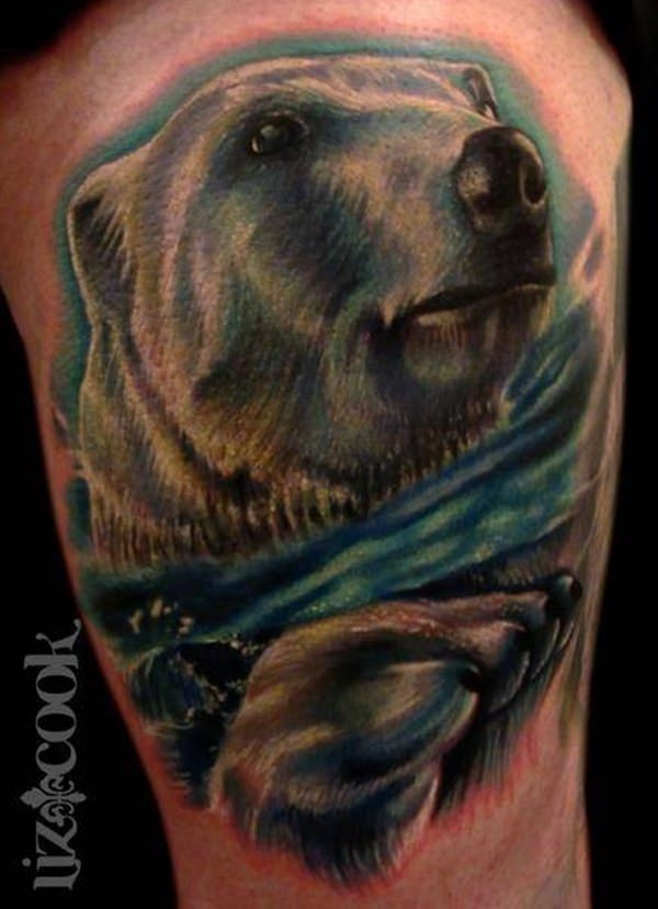 Urso tattoo 1