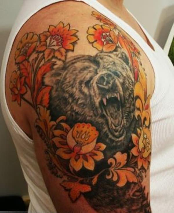 Urso tattoo 2