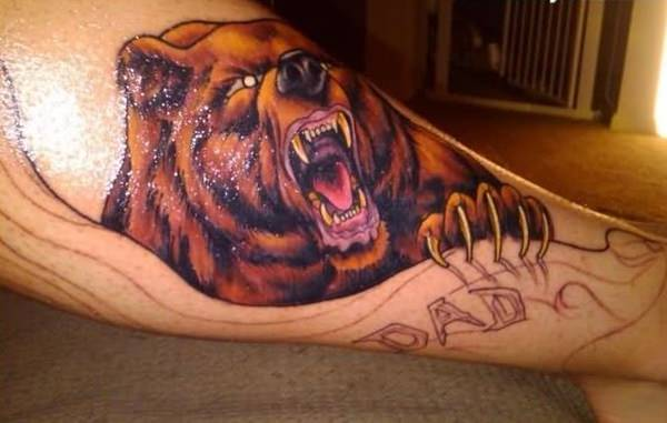 Urso tattoo 3