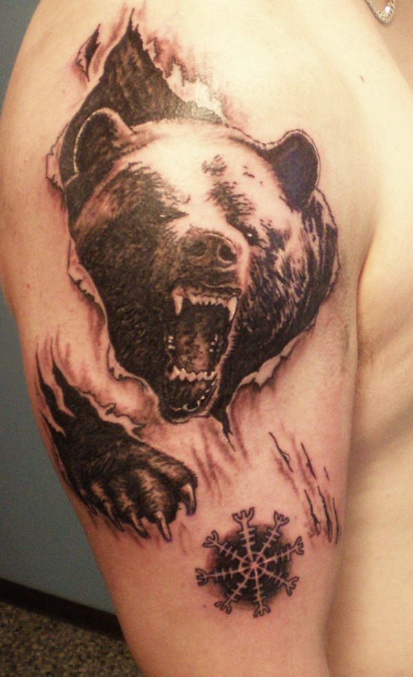 Urso tattoo 4