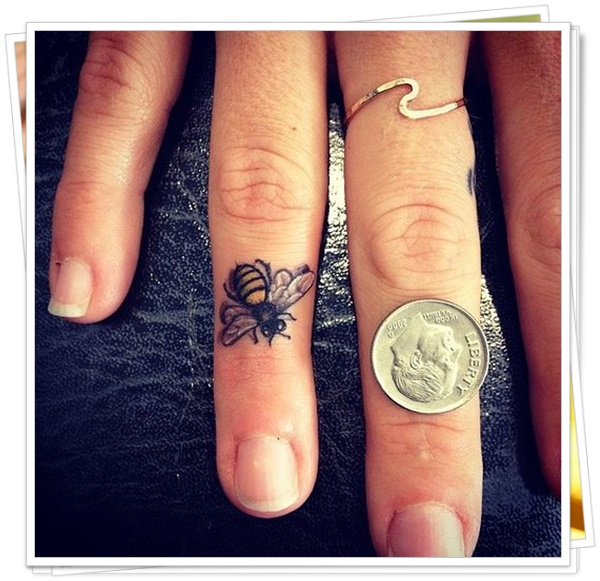 bee tattoos 1