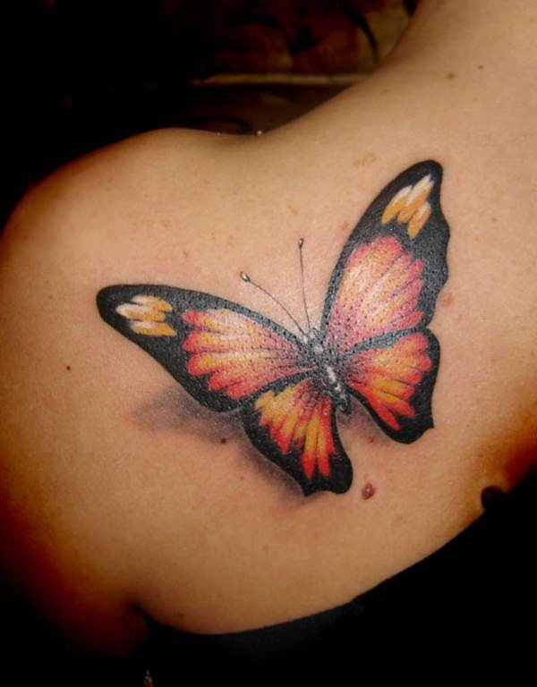 butterfly tattoo 7