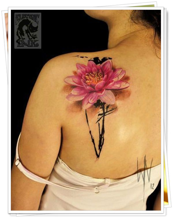 lotus tattoo8