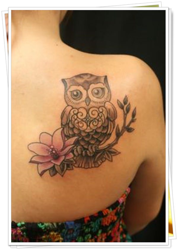 owl tattoo 17
