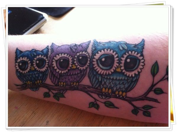 owl tattoo 27