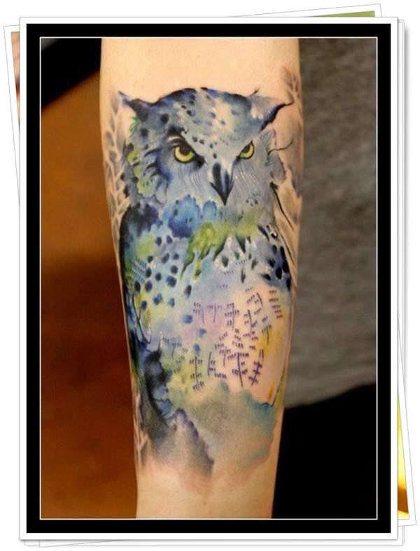 owl tattoo 36
