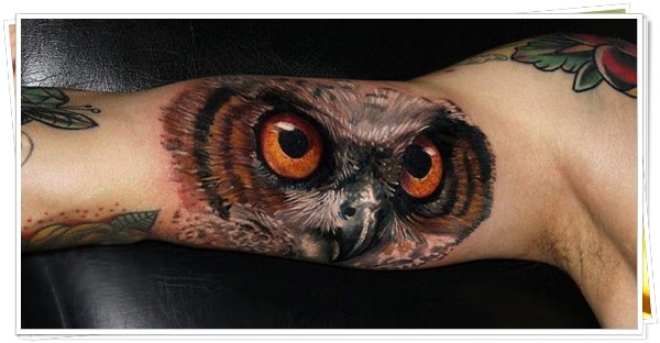owl tattoo 6