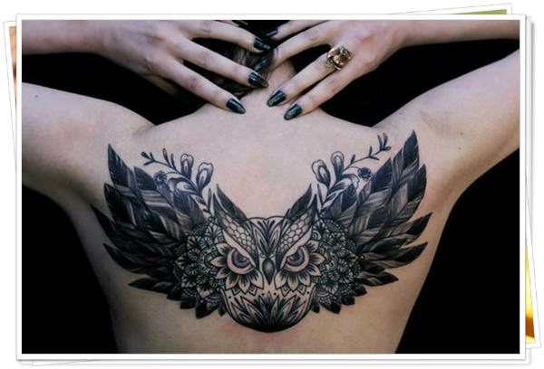 owl tattoo 9