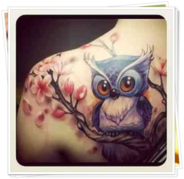 owl tattoo11