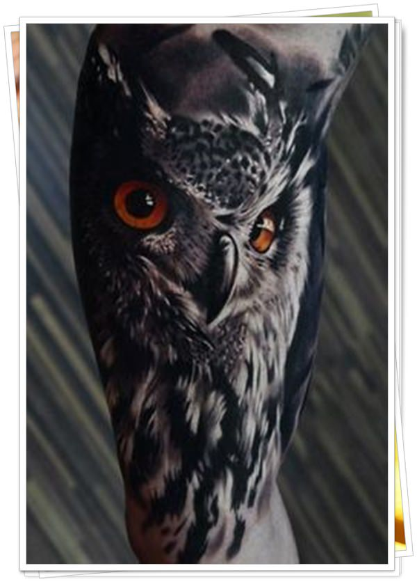 owl tattoo14