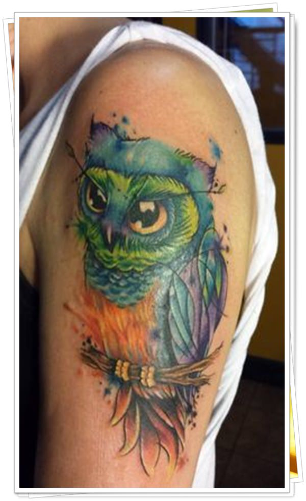 owl tattoo23