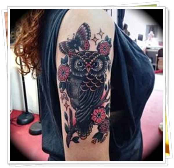 owl tattoo26