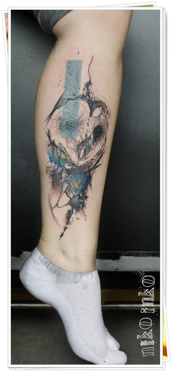 owl tattoo36