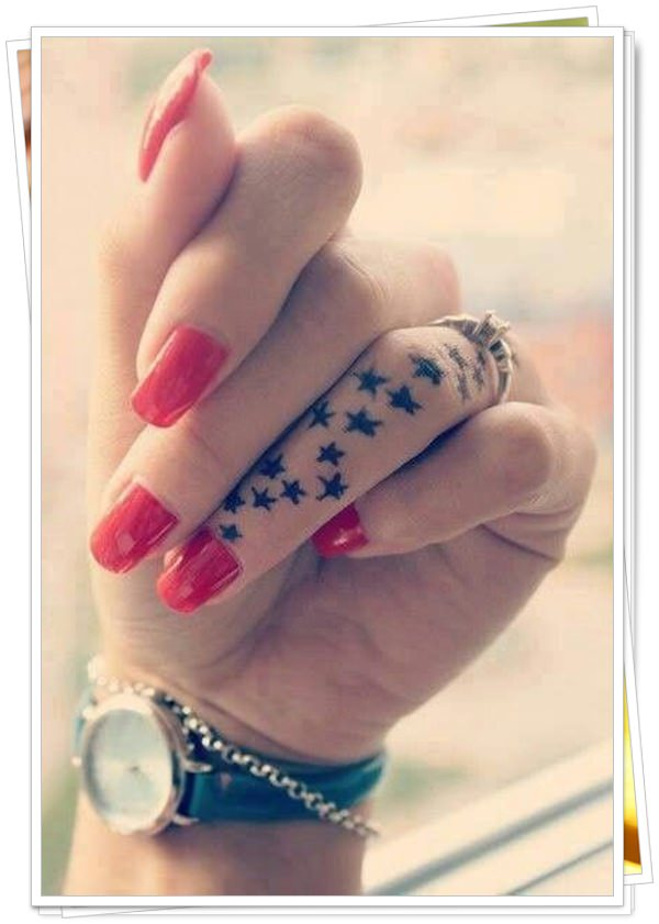 tattoo in finger 4