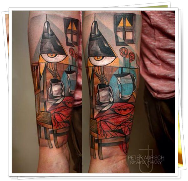 Abstratas tattoo 1