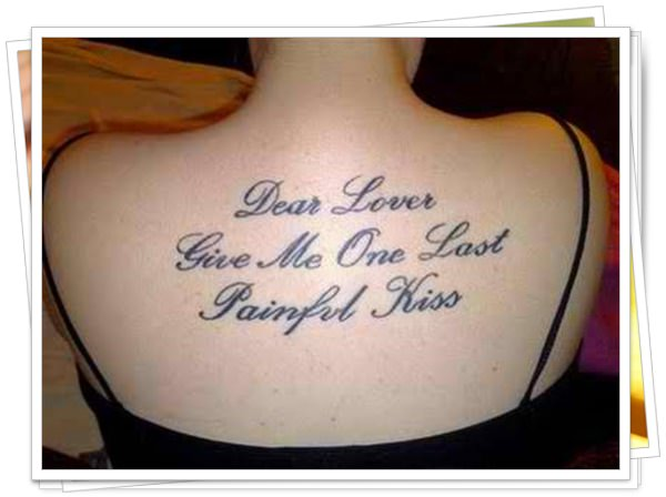 Quotations tattoo 7