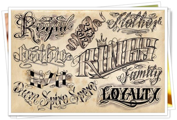 best fonts for tattoo 8