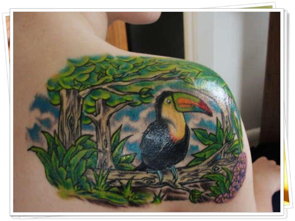 colored tattoos 25