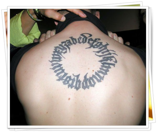 larger text tattoo 6