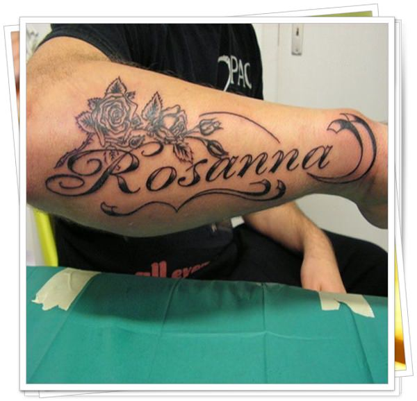 name tattoo 9