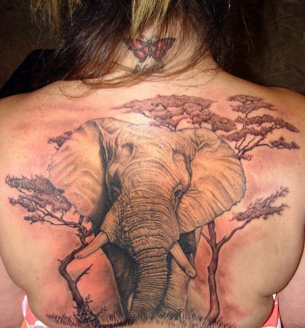 tatto on back 16