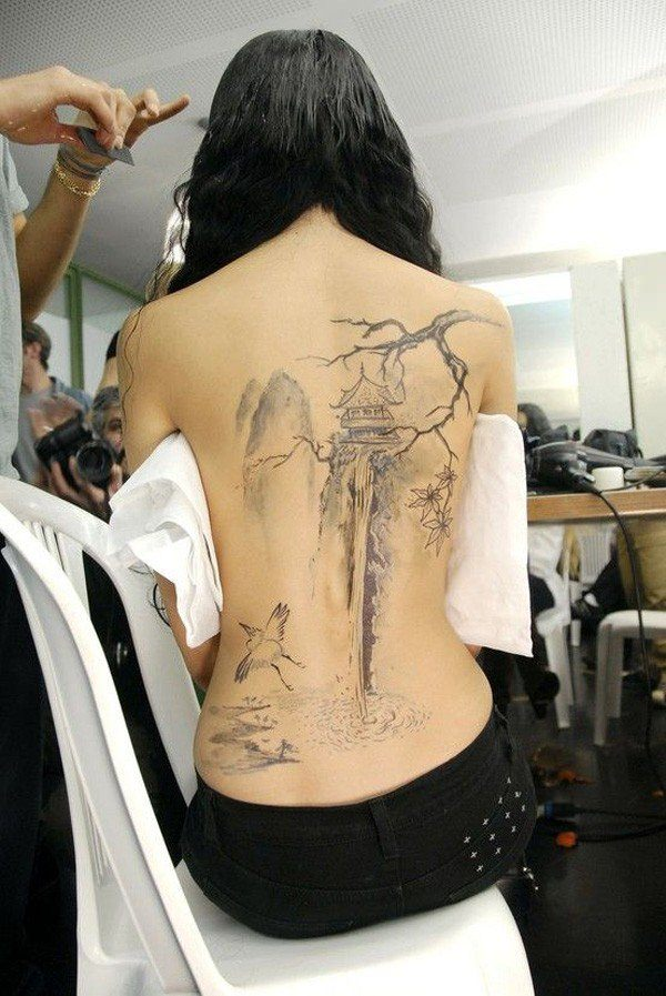 tattoo on back 3