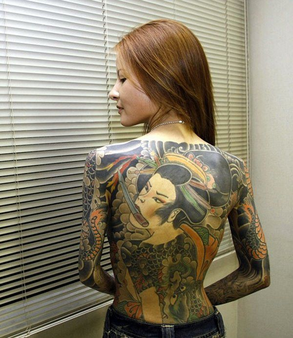 tattoo on back