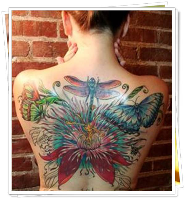 tattoo on womens back 12