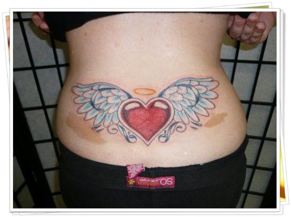 tattoo on womens back 24
