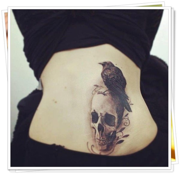 tattoo on womens back 41