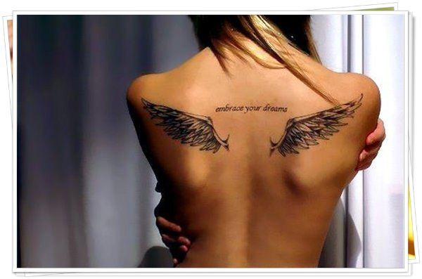 tattoo on womens back 47