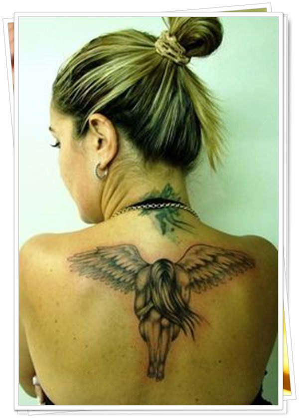 tattoo on womens back 48