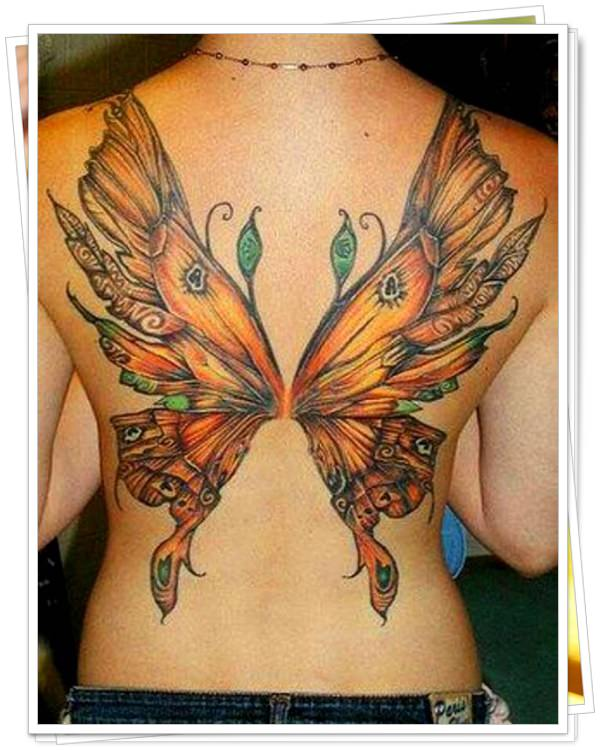 tattoo on womens back 9