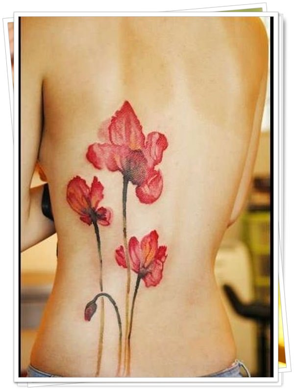 women's tattoos on the back 36