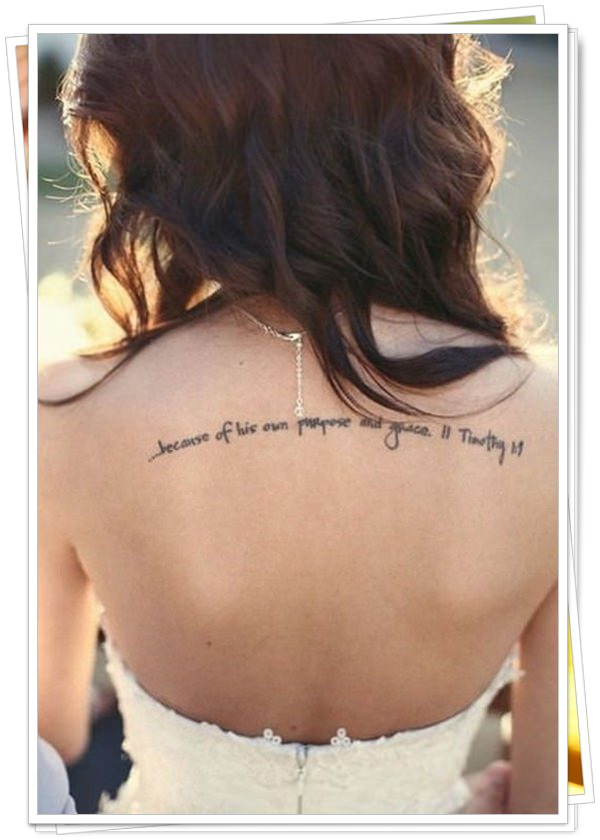 women's tattoos on the back 38