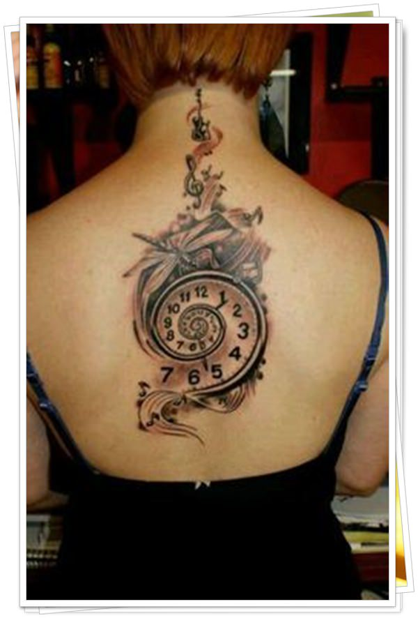 women's tattoos on the back 42