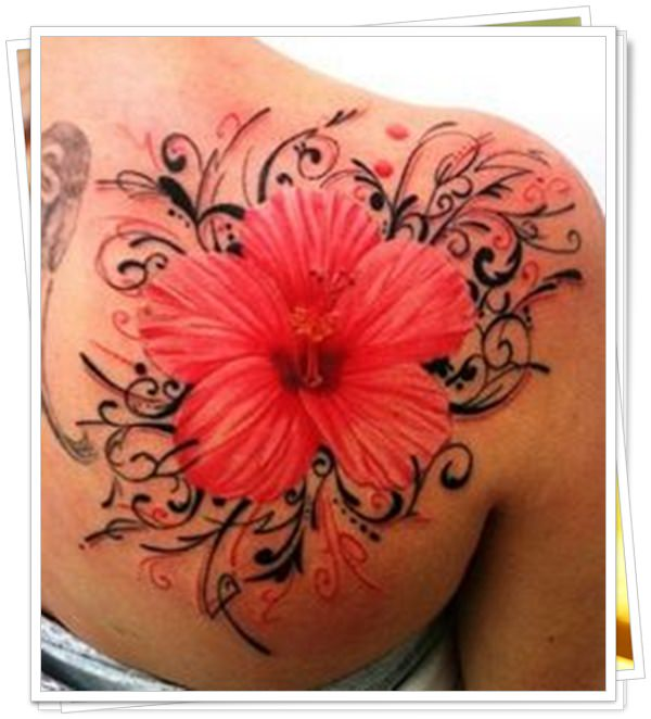 women's tattoos on the back 6