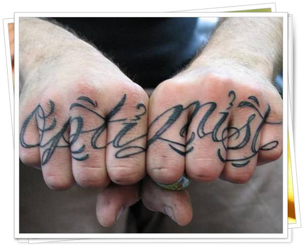 written tattoo in wrist 5